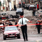 The scene of devastation in Omagh