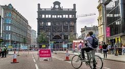 The donation of £500,000 by Primark to be distributed to businesses in Belfast city centre affected by the fire which destroyed the retailer's Bank Buildings premises is a tremendous gesture