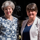 Theresa May with Arlene Foster