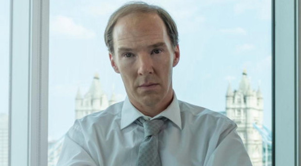 Benedict Cumberbatch as Dominic Cummings in the Channel 4 drama, Brexit: The Uncivil War