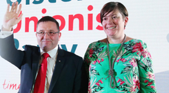 UUP leader Robin Swann and wife Jenny
