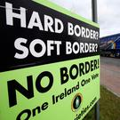 Posters agitating for a border poll have become a fixture in some areas