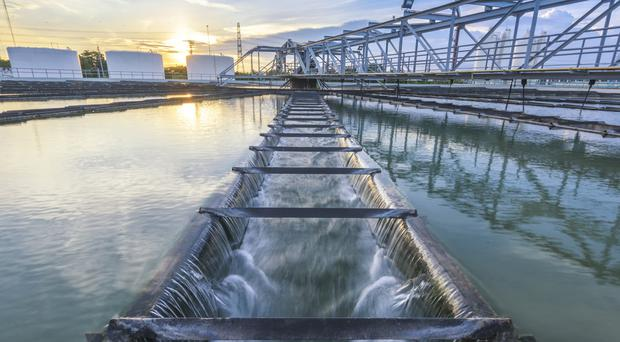 Water treatment plants are at, or close to, capacity