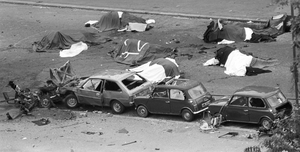 The Hyde Park bombing in 1982