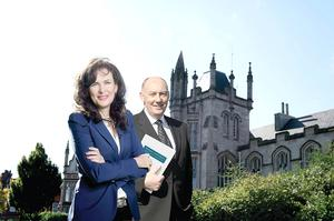 Professor Deirdre Heenan and Colin Anderson, who are heading up the Heenan-Anderson Commission