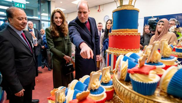 The formality of a royal visit when William and Kate went to the Khidmat