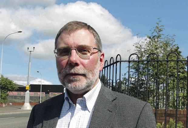 Nelson McCausland is in the firing line