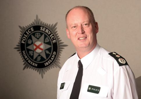 New Chief Constable George Hamilton