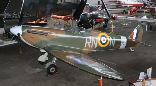 A Spitfire Mark II, a stalwart hero of the Battle of Britain