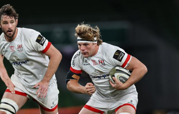 Dropping down: Jordi Murphy wants Ulster to embrace their opportunity in the second-tier Challenge Cup