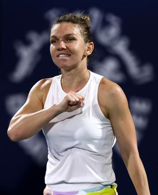 Tough situation: Simona Halep would have to follow the rules