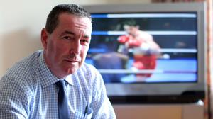 Real fears: Dave McAuley is worried that boxers will miss out on both huge pay days and the peak of their careers