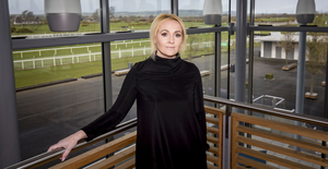Looking ahead: Down Royal CEO Emma Meehan is delighted to see racing return, but believes spectators won't be back on the course until 2021