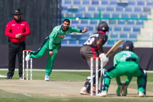 Game changer: Simi Singh was in impressive form for Ireland in Abu Dhabi yesterday