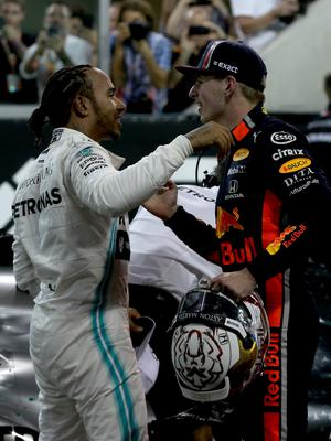 High aims: Max Verstappen is out to topple Lewis Hamilton