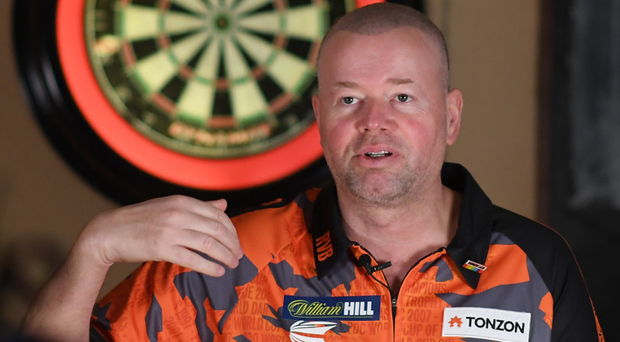 Glittering career: Raymond van Barneveld is all set for his final World Championship before retiring