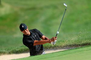 Good call: Tiger Woods agreed with the Ryder Cup's postponement