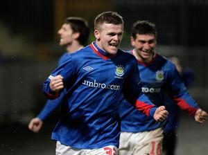 After netting for Linfield in the Big Two Boxing Day derby