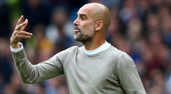 Keeping it professional: Pep Guardiola praised Southampton