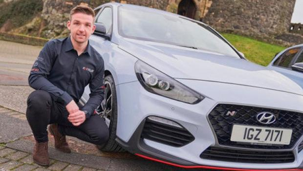 Fast mover: Chris Smiley will be part of Hyundai's BTCC debut