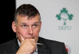 Compromise reached: IRFU chief Philip Browne had been pushing for 20% cuts, but a deal has finally been reached with playing staff