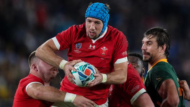 Running show: Justin Tipuric was to the fore in opening win