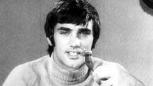 George Best advertising Cookstown Sausages