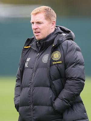 Strong stance: Neil Lennon remains confident in his Bhoys