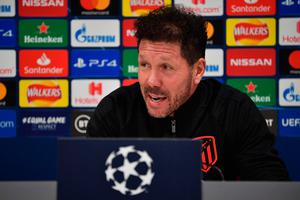 Believe me: Diego Simeone says he won't spring surprises