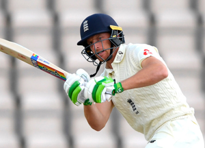 Off colour: Jos Buttler failed to hit the heights during England's first Test with the West Indies