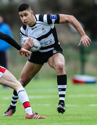 Big opportunity: Cormac Izuchukwu is relishing his chance at the Ulster Academy