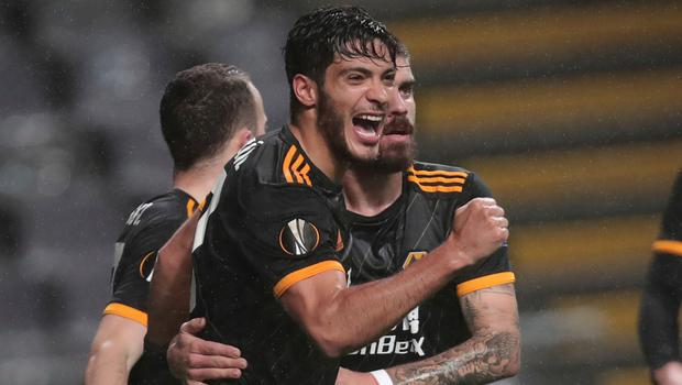 Goal threat: Raul Jimenez was involved in every Wolves goal