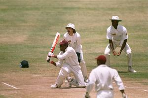 New mark: Brian Lara en route to his 375 in 1994