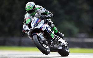 Good going: Glenn Irwin was fourth fastest at the end of testing