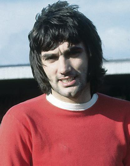 George Best is regarded by everyone as one of the greatest footballers of all time, and by many, including Brazilian icon Pele, as THE best of the lot. The Belfast boy, who lived a rock and roll life, had staggering skill and balance, which he used to score for Man United in their 1968 European Cup final victory, one of 179 goals for the club. A breathtaking talent.