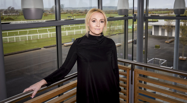 Big plans: Down Royal Chief Executive Emma Meehan is all set for Boxing Day meeting