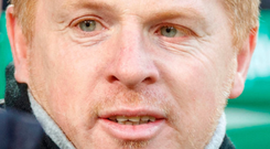 Great stuff: Neil Lennon is thrilled with Celtic's Euro run
