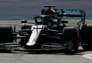 Firm stance: Lewis Hamilton has been battling against racism