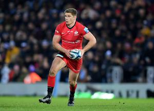 Money matters: Owen Farrell has agreed to massive pay cut