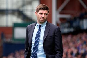 Going to plan: Success with Rangers will bring Steven Gerrard closer to his dream of becoming the next Liverpool manager