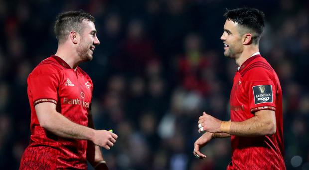 Paris match: JJ Hanrahan and Conor Murray will need to be at their best tomorrow for Munster against Racing