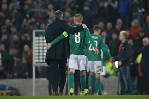 Strong relationship: Steven Davis and Michael O'Neill