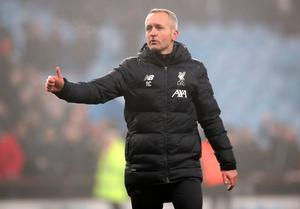 Neil Critchley took charge of Liverpool for their League Cup defeat to Aston Villa and FA Cup win over Shrewsbury earlier in the season