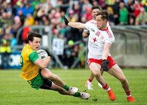 Collision course: the clash between Donegal and Tyrone may be moved venue, which may not find favour with the former