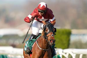 Real thing: Davy Russell and Tiger Roll win 2019 National
