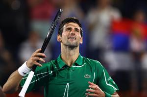 At odds: Novak Djokovic is opposed to vaccinations, which may become mandatory if tennis is to return