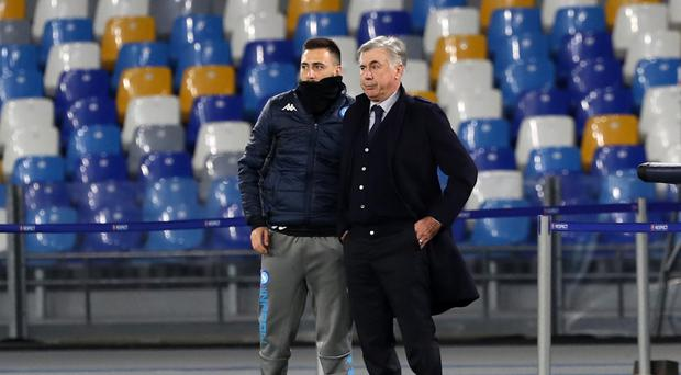In frame: Carlo Ancelotti could become Everton's new manager with son Davide to be his assistant coach at Goodison Park