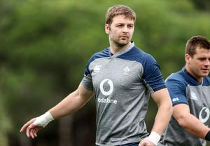 In demand: Iain Henderson will be needed by both Ulster and Ireland