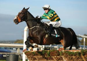 Tony McCoy riding Jezki to victory at Down Royal Festival