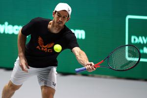 No rush: Andy Murray believes life must return to some sense of normality before tennis can take off once again